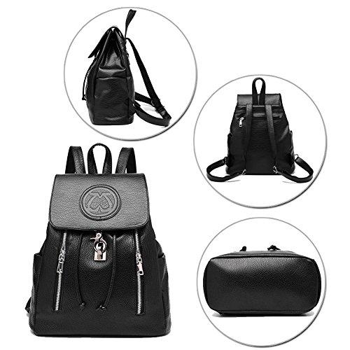 G-AVERIL - Bolso mochila  para mujer azul marino granate