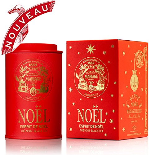 Price comparison product image Mariage Frères - ESPRIT DE NOEL® - HAPPY NOËL (new) - Limited edition - 3.17oz / 90gr canister / tin