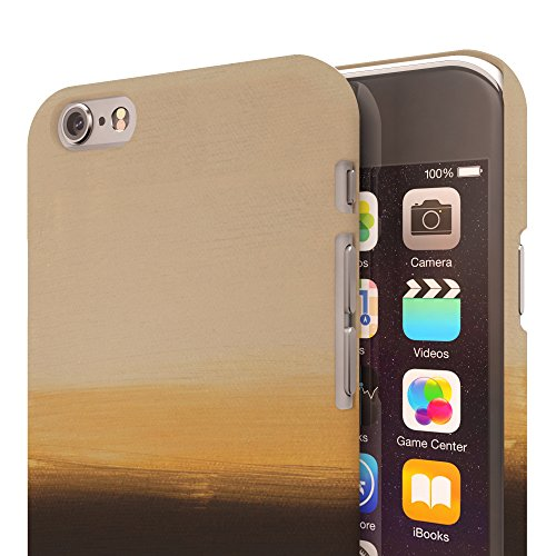 Koveru Back Cover Case for Apple iPhone 6 - Yellow and Black