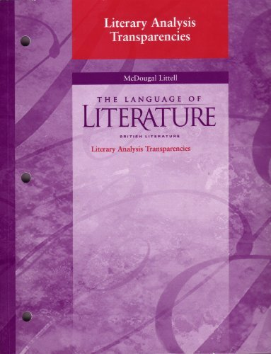 Language of Literature British Literature (Grade 12) Literary Analysis Transparencies ebook