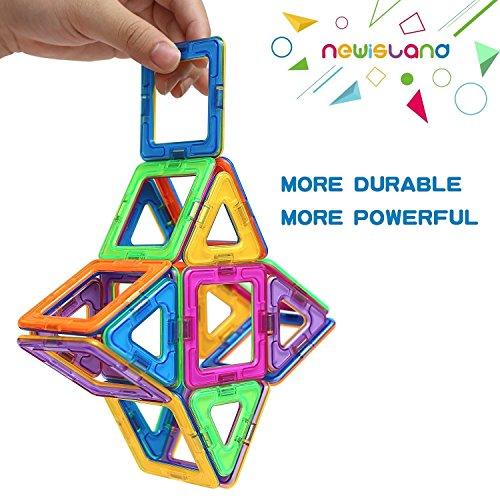 Magnetic Building Blocks Kids Magnetic Toys Newisland 40 Pcs Magnet Blocks Set