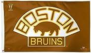 Wincraft NHL Boston Bruins 05273115 Deluxe Flag, 3-Feetx5-Feet