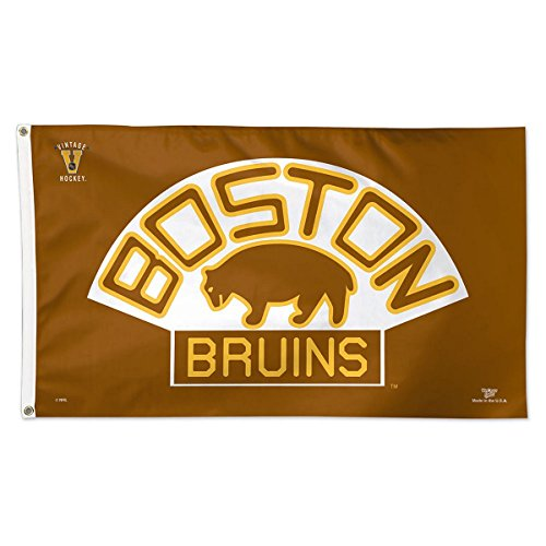 WinCraft NHL Boston Bruins 05273115 Deluxe Flag, 3' x 5'