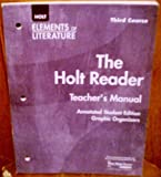 Elements of Literature, Grade 9, Holt, Rinehart and Winston Staff, 0030684021