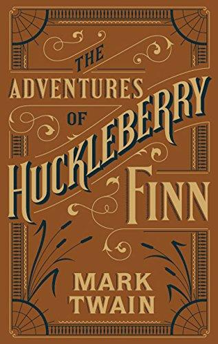 Book cover for Adventures of Huckleberry Finn