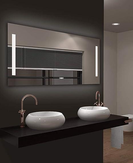 Specchio Bagno 120 X 60.Talos Star Specchio Per Il Bagno A Led Bianco Neutro 120x 60 Cm