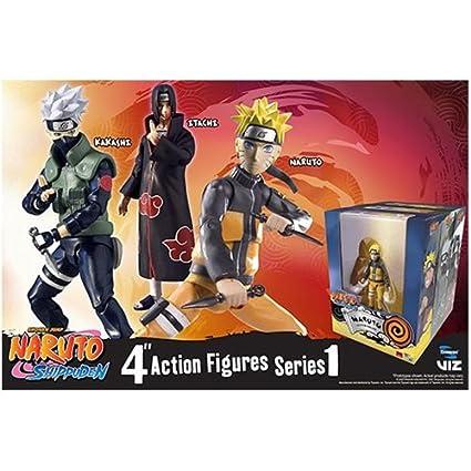Amazon com: Naruto Shippuden 4-Inch Poseable Action Figure Series 1