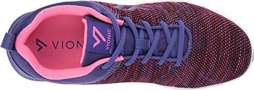 Vionic Womens Agile Adley Lace Up Purple Size 8.5