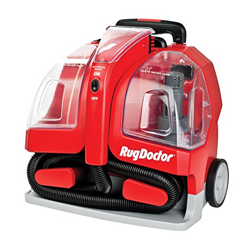 Rug Doctor Portable Spot Cleaner Machine, Red - Corded (Vacuum Machine Portable compare prices)