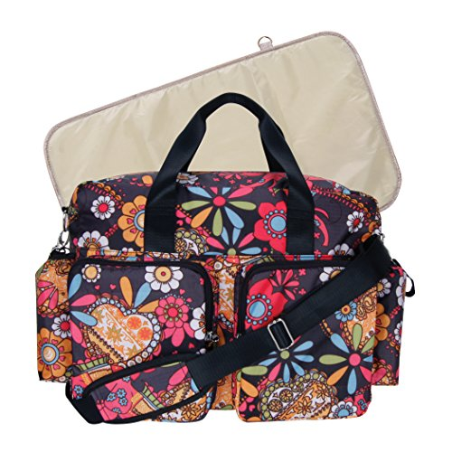 Trend Lab Deluxe Duffle Midnight