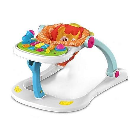 QHWJ Caminador de Actividades para bebés, Multiusos Cuatro en uno ...