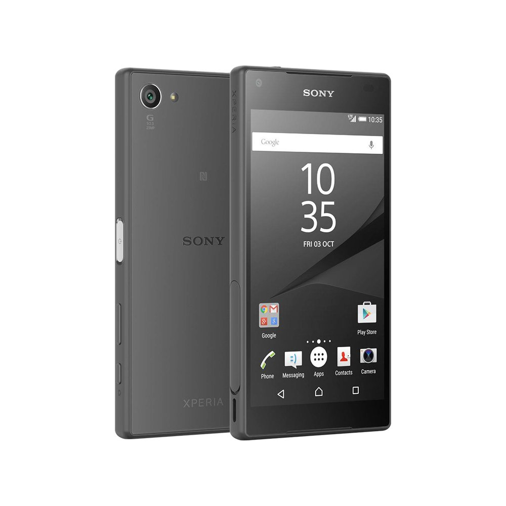 sony z5 compact. amazon.com: sony xperia z5 compact e5823 2gb/32gb 23mp 4.6-inch 4g lte factory unlocked (black) - international stock no warranty: cell phones \u0026 accessories