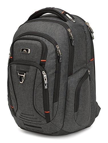High Sierra Endeavor Business Elite Backpack, Mercury Heather by High Sierra