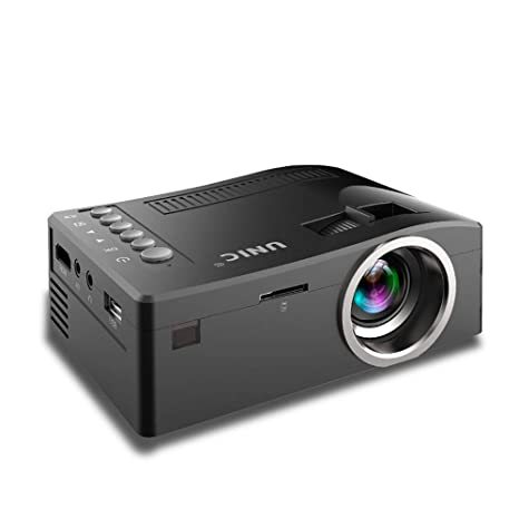 Amazon.com: ZYG.GG Proyector, Mini Proyector Portátil, 2200 ...