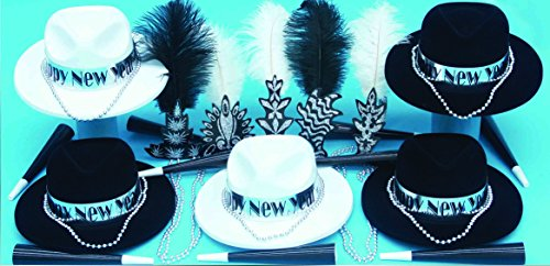 Roaring 20's New Years Party Kit for 50 by Shindigz