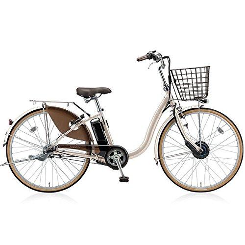 BRIDGESTONE(ブリヂストン) 18年モデル フロンティア F6AB28 26インチ 電動アシスト自転車 専用充電器付 B076SK63N6 E.Xクリームアイボリー E.Xクリームアイボリー
