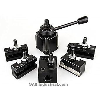 Quick Change Tool Mini Lathe Post Holder Metal Work Tool Engine for Diy Lathe