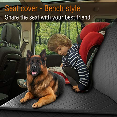 51Fu0iFbsiL. SS500  - Dog Back Seat Cover Protector