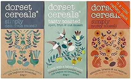 Dorset Cereals Muesli Variety 6 Packs (Pack of 2, Total 12 Packs ...