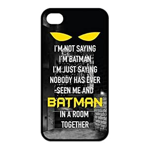 ROBIN YAM Hard Flexible Rubber Cover Case for iPhone 6 plus, Cool Batman Logo -ARY93