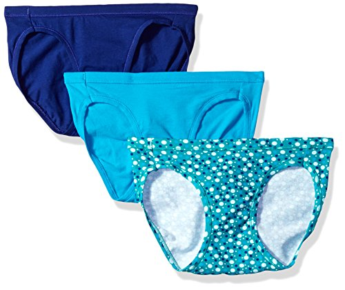 Hanes Women's Comfort Soft Stretch Bikini 3 Pack Assorted,