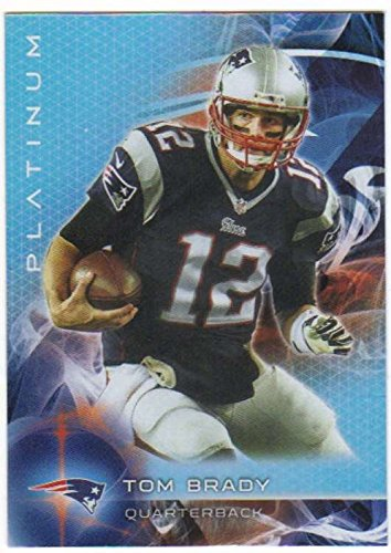 2015 Topps Platinum #5 Tom Brady Patriots NFL Football Card ()