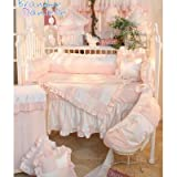 51Fu1glIveL. SL160  Brandee Danielle Princess Pink Musical Crib Mobile