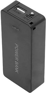 5 Stueck schwarz Akku Aufbewahrungsbox Kasten Halter fuer Batterien 3.7V18650x1