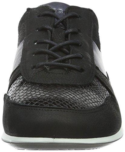 Ecco Damen Touch Sneaker Sneakers Schwarz (BLACK/BLACK 56119)