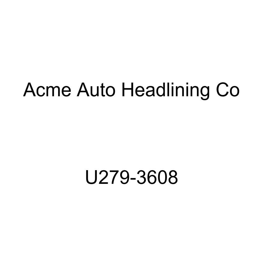 Acme U279-3608 Front Light Blue Vinyl Bench Seat Upholstery
