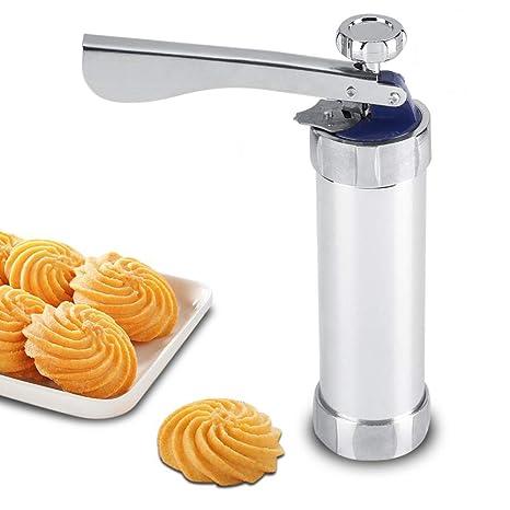 ATK - Kit de pistola de acero inoxidable para hacer galletas ...