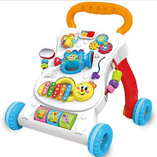 赤ちゃん 速度調整 ウォーカー トロリー 子供 おもちゃ 早期教育 二種類 脳力を発達させる 多機能 二種類 速度調整 音楽で おもちゃ B07GZV231T, 広島市:cc277868 --- infinnate.ro