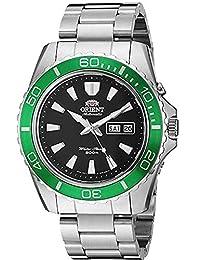 Reloj Orient para Hombres 45mm, pulsera de Acero Inoxidable