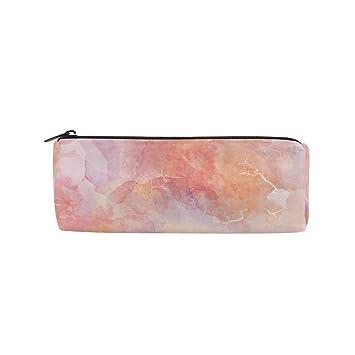BONIPE - Estuche para lápices, diseño abstracto de mármol de ...