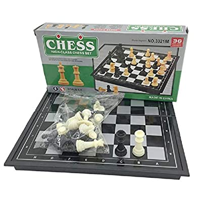 High-Class Magnetic Chess Set Folding Portable Home Travel School Gift