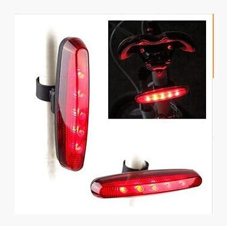 Kaxima Luces Bicicleta Larga Cola de luz roja Coche Luces traseras ...