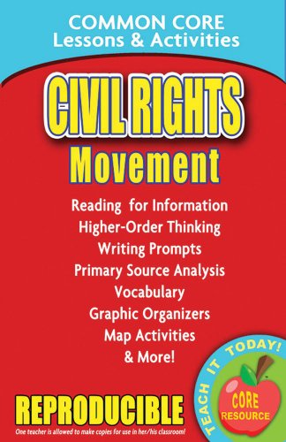 Civil Rights Movement - Common Core Lessons and Activities