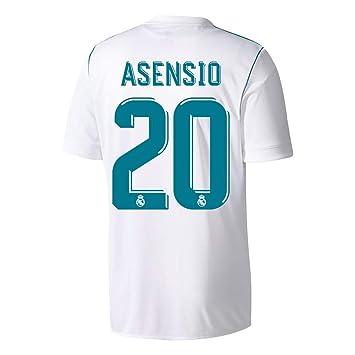 ad85cf9c03c Real Madrid Home Asensio No20 Shirt 2017 2018 (Official Player Printing) -  XL