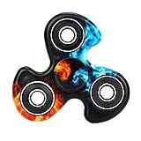 Fidget Spinner, Windmill Hand Spinner Tri Fidget Ceramic...