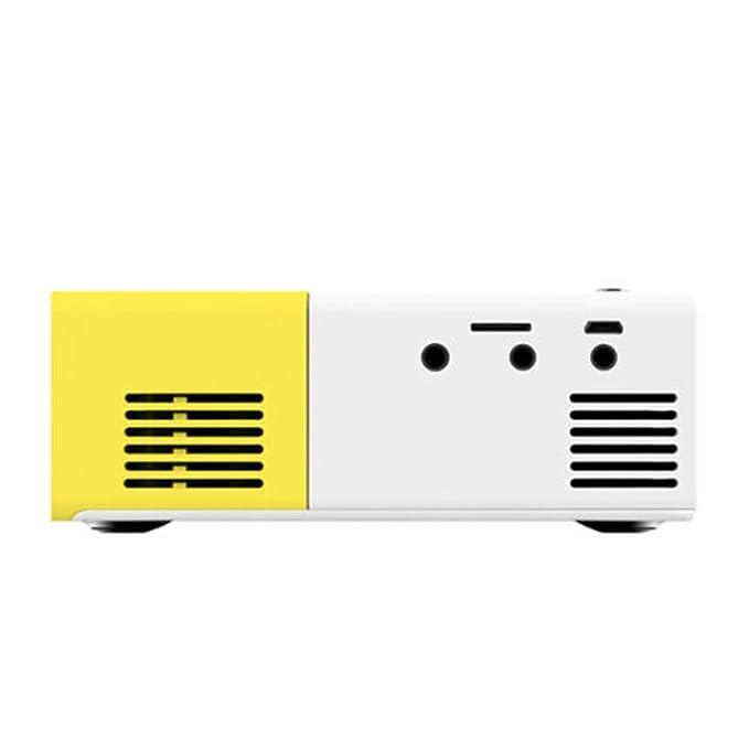 Amazon.com: Projectors YG-300 LCD Mini Support 1080P Portable LED Projector Home Cinema: Electronics