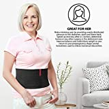 "ORTONYX 6.25"" Abdominal Binder for Men and Women"