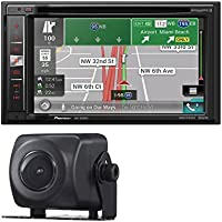 Pioneer AVIC-5200NEX DVD CD Navigation Receiver w/ 6.2 Touchscreen With PIONEER ND-BC8 Universal Rearview Camera