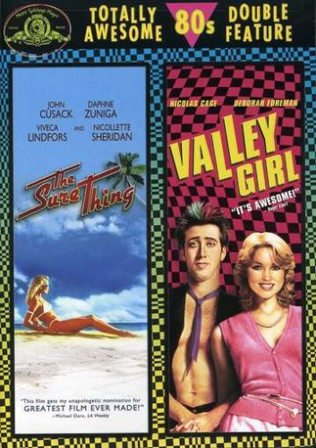 The Sure Thing / Valley Girl (Double Feature) - College Girls Dvd