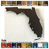 Cheap Florida metal wall art – Choose 10″, 16″ or 22″ wide – Handmade – Choose your patina color and Any USA State