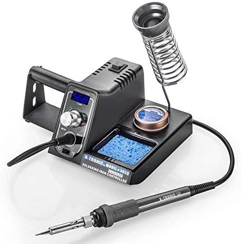 X-Tronic FBA_3020-XTS Digital Display Soldering Iron Station
