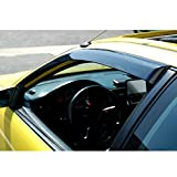 94 honda civic hatchback parts - VIOJI Front Smoke Sun/Rain Guard Vent Shade Window Visors Fit 92-95 Honda Civic 2-Door Coupe/3-Door Hatchback 2pcs