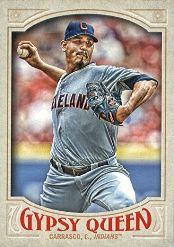 2016 Topps Gypsy Queen Baseball #97 Carlos Carrasco Cleveland Indians