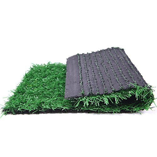 Artificial Turf Lawn Fake Grass Indoor Outdoor Landscape Pet Dog Area (24X20 in)
