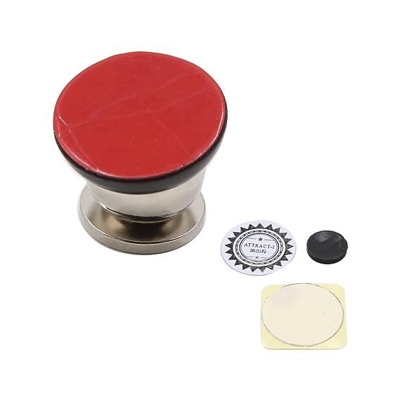Amazon.com: eDealMax Coche del vehículo móvil Universal auto adhesivo giratoria soporte magnético Shell: Electronics