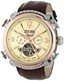 Ingersoll Men's IN4505RCR Montgomery Fine Automatic Timepiece Cream Dial Watch